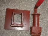 定制半挂车升降锁具,弯柄锁头批发 集装箱锁具 转锁 角锁