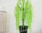 大型仿真塑料假柳叶柳树绿植落地盆栽酒店客厅室内装饰树盆景摆放