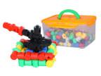 潜力 五彩多孔拼拼乐 塑料拼插拼装积木 儿童益智拼装玩具批发