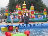 四川簡陽市各種大型新款充氣城堡加厚PVC材質廠家批發