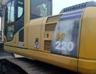 转让 挖掘机小松220保养很好 动力强大