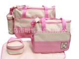 印花手提妈咪包)多功能时尚妈咪包 便携妈咪包 手提包