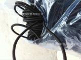 供应进口国产材质的黑白彩色松紧绳/弹力绳/橡筋绳,规格齐全
