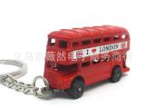 英国双层巴士钥匙扣批发 公司活动礼品定制logo 英伦风礼物