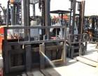 南京六合二手合力4吨叉车低价处理 高门架叉车