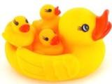 小网鸭 婴儿游泳戏水鸭 洗澡伴侣 宝宝水上玩具 宝宝玩具