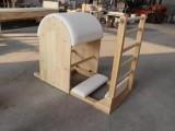 普拉提器械廠家A橡木材質二合一訓練床A普拉提健身器械