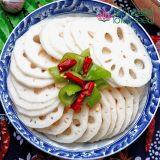 莲藕片新鲜冷冻脆甜嫩菜藕片火锅美食材料产地出口产品批发直供