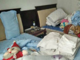 求购酒店床单被罩,毛巾浴巾,被褥等旧布草
