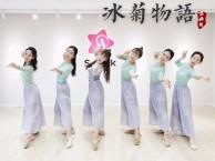 青岛古典舞 暑期班舞蹈培训 冰菊物语