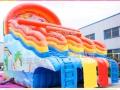 天蕊游乐供应水上乐园水滑梯各种款式规格水上漂浮物支架水池珠海