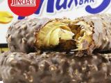 韩式进口食品 锦大Max5 花生夹心巧克力棒 香脆可口果仁巧克力