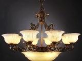 别墅专用灯,西班牙云石灯,吊灯,铜灯,欧