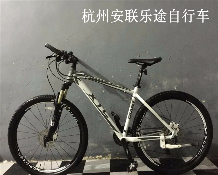 杭州安联自行车 实体店出售二手捷安特 美利达山地公路自行车