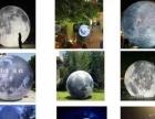 气模发光月亮出租,升空月亮租赁,3至20米发光月球