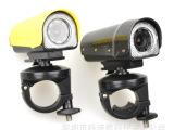 HD1080P夜视高清骑行摄像机 运动相机 LED灯单车DV T
