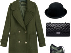 15春装新款欧美风品牌女装时尚女式外套纯色羊毛长袖风衣女装