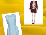 供应春夏女装面料 仿麻面料 女士套装 西服 时装面料 欧时力风格
