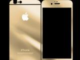 苹果iPhone6手机彩色钢化玻璃膜 贴膜 防爆前后贴膜 手机贴