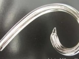 水晶蜡烛灯配件玻璃弯管水晶S管闪电羊角水