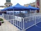 天津气球拱门租赁 出租活动用铁马护栏一米线 道旗各色地毯租赁