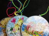 圆形迷宫挂件热卖儿童地摊夜市塑料小玩具义