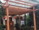 专业定制优质防腐木木屋屋顶花园桌椅私家园林葡萄架
