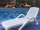 塑料折叠躺椅花园阳台折叠躺椅休闲单人躺椅优质塑料躺凳