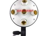 摄影灯头 摄影棚五灯头 送灯箱