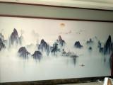 惠州贴墙纸墙布壁画包工料上门测量