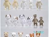 正版 森贝儿 森林家族 植绒兔子 斑点狗 公仔玩具