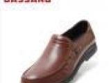 巴仙奴2013新款套脚皮鞋男士正装商务休闲男鞋英伦真皮头层皮鞋