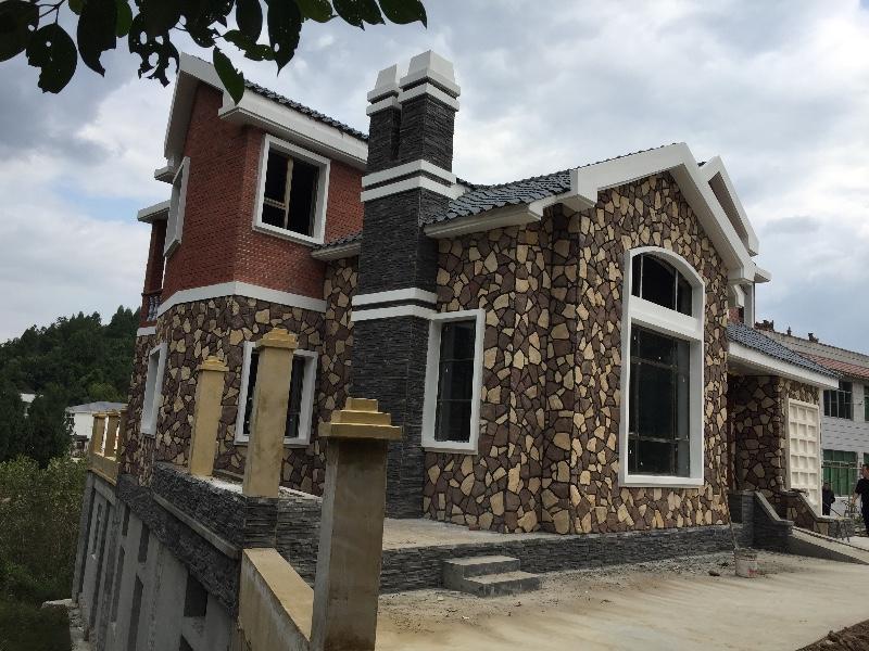 南充营山自建房 别墅 小洋房 乡镇房屋 景观设计及施工