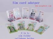 SIM卡收纳夹 手机卡片支架,nano