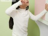 代理加盟春款外贸原单针织打底衫 儿童蕾丝打底女童毛衣 厂家批发
