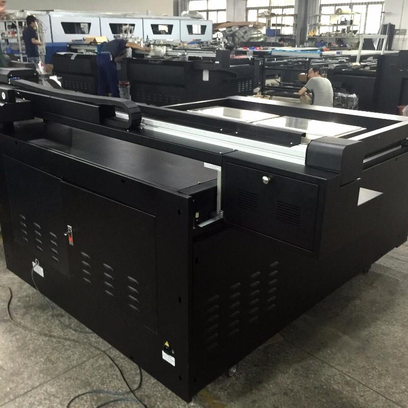 全新UV打印机 可打任何材质瓷砖地板砖陶瓷木地板背景墙高清图