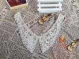 【企业集采】珠片胸花 丝带领花牛奶丝水溶绣领花边盘带满幅绣花