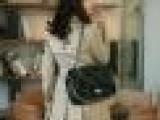 秋款女装风衣修身韩版外套大衣双排扣卡其色风衣特价批发[X7008