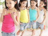 【伙拼】2014夏款新款中大童公主无袖吊带衫韩版儿童工字背心T恤