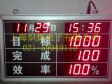 485通讯PLC通讯LED车间流水线计数器显示屏/LED电子看板