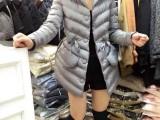 欧洲站秋冬新款女装带帽毛毛抽绳中长款韩版外套棉服棉衣