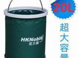 20L超大容量洗车水桶 折叠水桶 20升户外可伸缩车载筒状杂物袋
