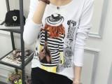 T恤衫批发韩版时尚连衣裙厂家直销批发便宜服装批发韩版女装