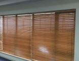 上海黄浦区定做铝百叶窗帘办公室竹帘印字卷帘电动遮阳窗帘定做