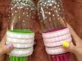 包邮 蔬菜水果杯手工钻玻璃柠檬杯方钻榨汁杯 送杯刷散钻代发