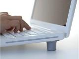 电脑周边 日式笔记本电脑散热垫 笔记本电脑脚垫 支撑脚垫底座