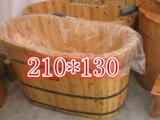 【美黛子】 210*130  透明泡澡袋子 一次性桑拿木桶袋 厂