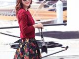 秋冬长袖套头毛衣休闲套装女 韩版针织两件套装裙 ins爆款毛衣裙
