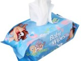 婴儿手口湿巾 新生儿童宝宝湿纸巾100抽