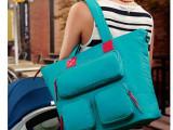 厂家定制 妈咪轻便双肩包 大容量防水 斜跨包 孕妇多功能妈咪包袋